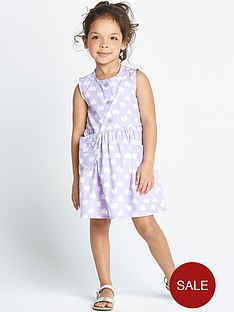 ladybird-girls-heart-print-dress-with-bag