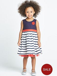 ladybird-toddler-girls-stripe-corsage-dress