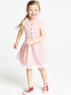 ladybird-girls-textured-seersucker-shirt-dress