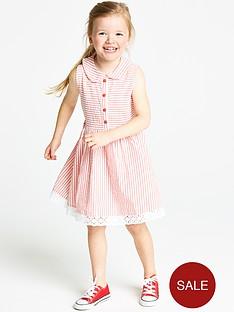 ladybird-girls-textured-seersucker-shirt-dress