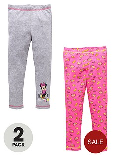 minnie-mouse-girls-mix-and-match-leggings-2-pack