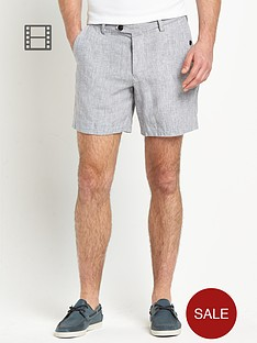 french-connection-mens-linen-shorts