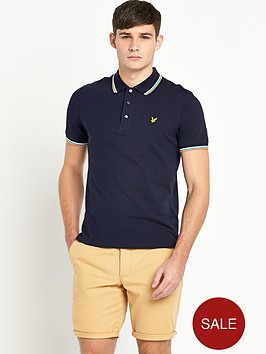 lyle-scott-mens-tipped-collar-polo-shirt-new-navy