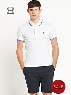 lyle-scott-mens-tipped-pique-polo