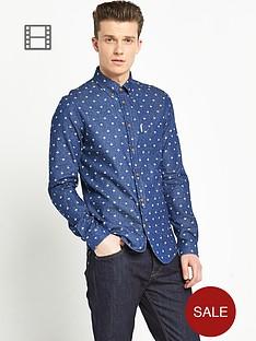 ben-sherman-mens-umbrella-print-long-sleeve-shirt