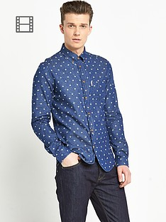 ben-sherman-mens-umbrella-print-long-sleeve-shirt
