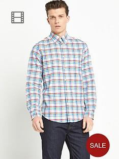 ben-sherman-mens-oxford-multi-check-long-sleeve-shirt