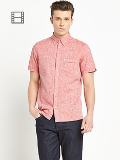 ben-sherman-mens-linen-mix-short-sleeve-shirt