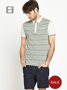 goodsouls-mens-short-sleeve-all-over-jacquard-polo-top