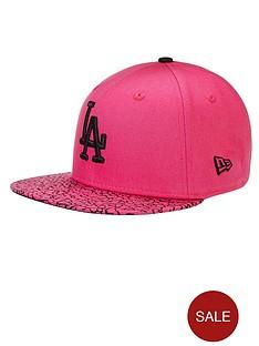 new-era-la-dodgers-crackled-cap