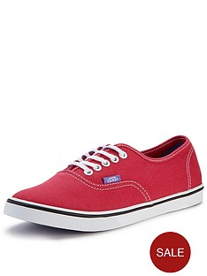 vans-authentic-lo-pro-trainers-red