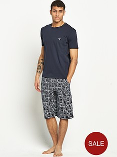 emporio-armani-mens-short-pj-set