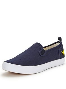 lyle-scott-cally-herringbone-slip-ons