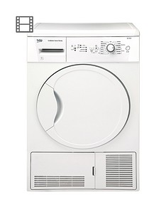 beko-dcu7230w-7kg-load-sensor-condenser-dryer-next-day-delivery-white