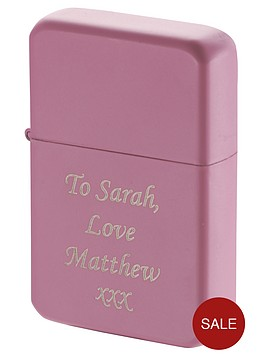 personalised-pink-lighter