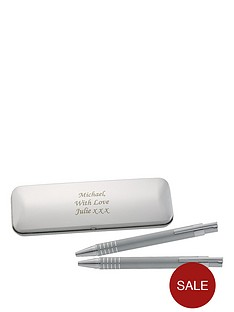 personalised-pen-and-pencil-box-set