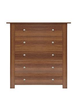 Milano Chest of 5 Drawers
