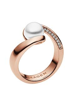skagen-agenthe-pearl-rose-gold-tone-stainless-steel-ring
