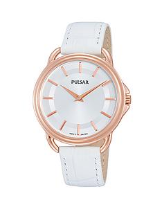 pulsar-rose-gold-white-leather-strap-ladies-watch