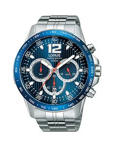 lorus-chronograph-blue-dial-stainless-steel-bracelet-mens-watch