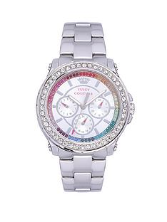 juicy-couture-pedigree-crystal-rainbow-bezel-stainless-steel-chronograph-bracelet-ladies-watch