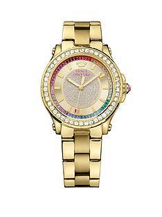 juicy-couture-pedigree-crystal-rainbow-bezel-gold-tone-stainless-steel-chronograph-bracelet-ladies-watch