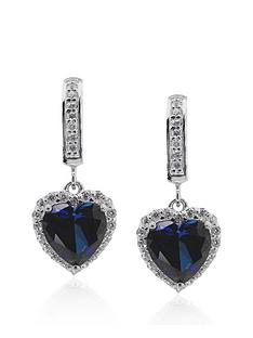 carat-london-sterling-silver-sapphire-heart-border-set-earrings