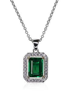 carat-london-sterling-silver-emerald-green-border-set-pendant