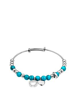 emozioni-by-hot-diamonds-silver-plated-faux-turquoise-bangle
