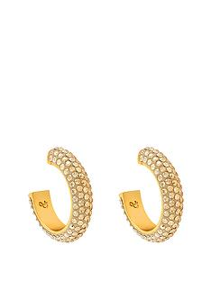 lola-and-grace-gold-plated-mini-loop-creole-earrings-25mm-made-with-swarovski-elements