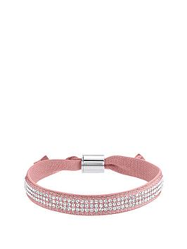 lola-and-grace-peach-crystal-stretch-ribbon-bracelet-made-with-swarovski-elements