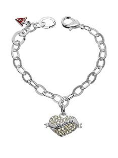 guess-rhodium-plated-bracelet-with-branded-heart-charm