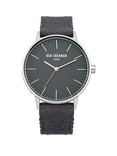 ben-sherman-ben-sherman-grey-dial-and-fabric-strap-mens-watch