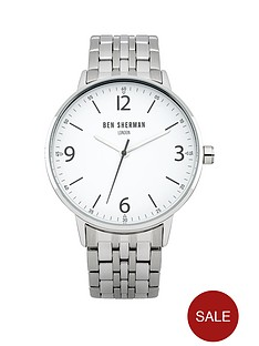 ben-sherman-white-dial-stainless-steel-bracelet-mens-watch