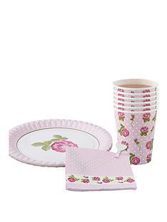vintage-rose-tableware-set