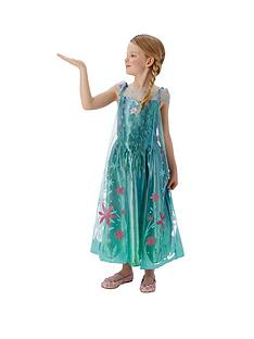 disney-frozen-fever-elsa-childs-costume