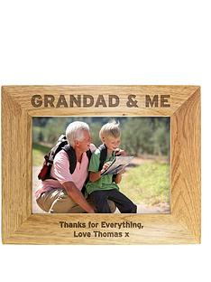 personalised-grandad-and-me-wooden-photo-frame