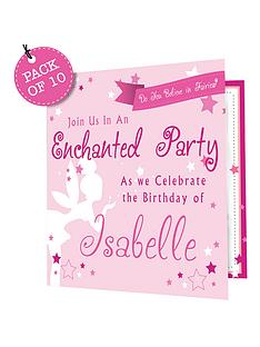 personalised-enchanting-invitations-pack-of-10