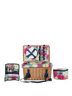 summerhouse-by-navigate-floral-4-person-wicker-picnic-basket