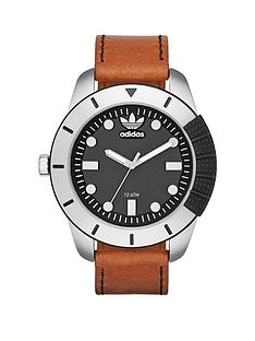adidas-adi-1969-black-dial-with-dark-brown-leather-strap-mens-watch