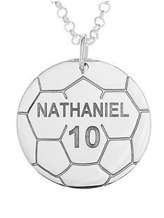 love-silver-personalised-sterling-silver-football-mens-pendant