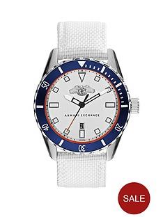 armani-exchange-silver-dial-and-white-woven-nylon-strap-mens-watch