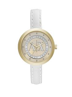 armani-exchange-mop-dial-and-white-leather-strap-ladies-watch