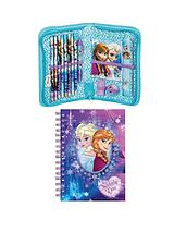 Notebook and Filled Pencil Case