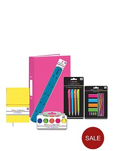 back-to-school-neon-stationery-bundle