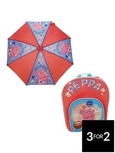 peppa-pig-back-pack-and-umbrella-set