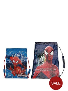 spiderman-shoe-and-swim-bag-set