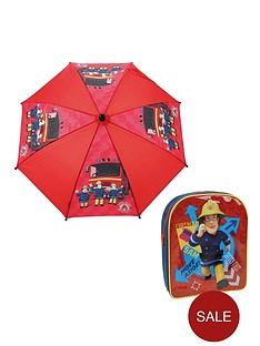 fireman-sam-back-pack-and-umbrella-set