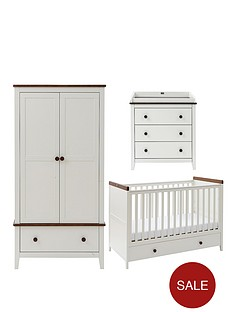 silver-cross-porterhouse-cot-bed-dresser-and-wardrobe