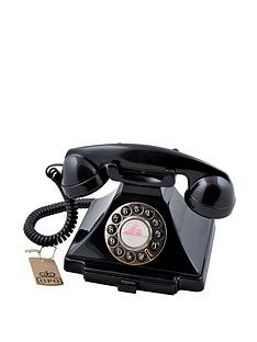 gpo-carrington-classic-retro-telephone-black